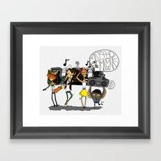 Matsch-Memoiren Framed Art Print