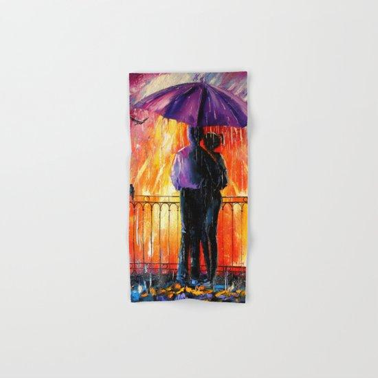 Rain for lovers Hand & Bath Towel