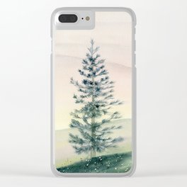 Somewhere Far Away Clear iPhone Case