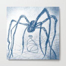 spider's food Metal Print