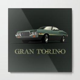 Gran Torino Metal Print
