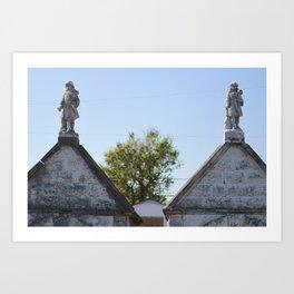 The Tombs Art Print