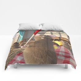 Three Blind Mice - Nursery Rhyme Inspired Art Comforters