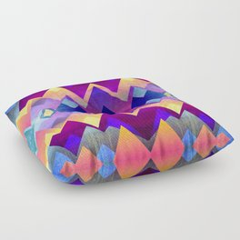 A new day Floor Pillow