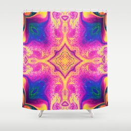 Psychedelic Three Shower Curtain