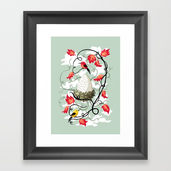 Nest 2 Framed Art Print