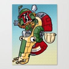 Boba the Bountyhunter Canvas Print