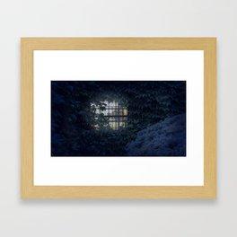 Ivy Covered House Framed Art Print