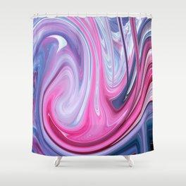 Hodge-Podge Soup Shower Curtain