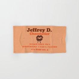 Jeffrey D's Bites! Hand & Bath Towel