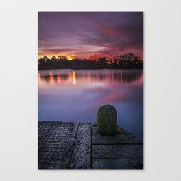 Jetty Sunrise I Canvas Print