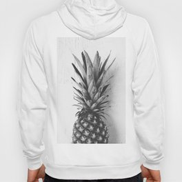 Black and white pineapple Hoody