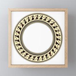 Etruscan Dancers Framed Mini Art Print