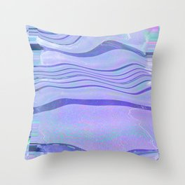Glytch 06 Throw Pillow