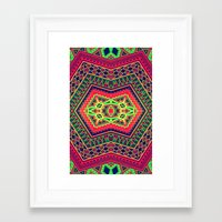 abyss Framed Art Prints featuring Abyss by Diego Tirigall