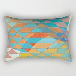 Triangle Pattern No. 11 Circles Rectangular Pillow
