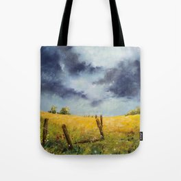 A Stormy Sky Tote Bag
