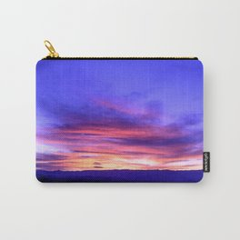 Southeastern Nevada Sunset - I Carry-All Pouch