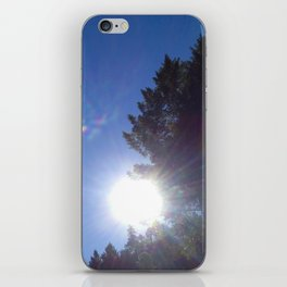 Resting On The Tree Tops iPhone Skin