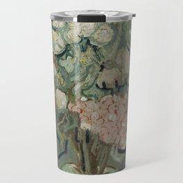 Vase of Flowers Travel Mug