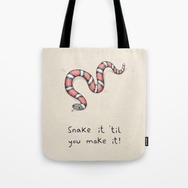 Snake It Tote Bag