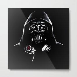 DJ Darth Vader Metal Print