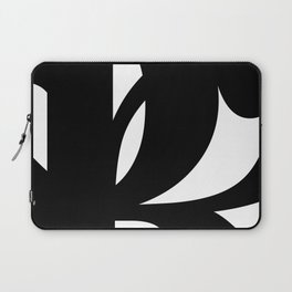 Hidden Letters. Baskerville R Laptop Sleeve