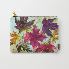 fallen leaves IV Carry-All Pouch
