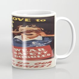 Vintage poster - Workplace safety Coffee Mug