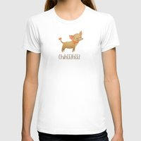chihuahua T-shirts featuring Chihuahua by 52 Dogs