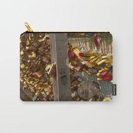 Parisienne Locks of Love Bridge Carry-All Pouch