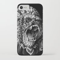 gorilla iPhone & iPod Cases featuring Gorilla by BIOWORKZ