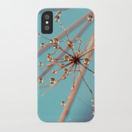 Queen Anne's Lace in Blue iPhone Case