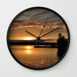 Swedish Sunset Wall Clock