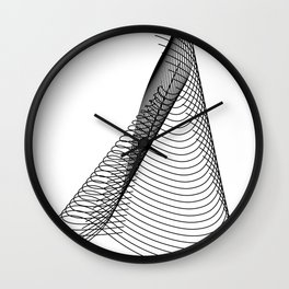 """Script Collection"" - Minimal Letter L Print Wall Clock"