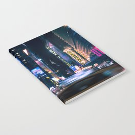 Neon Signs in New York, USA / Night City Series Notebook