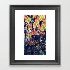 Fall out Framed Art Print