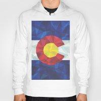colorado Hoodies featuring Colorado by Fimbis