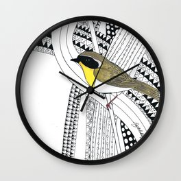 Common Yellowthroat  Wall Clock
