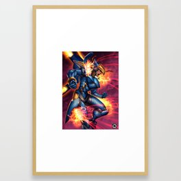 pharah Framed Art Print