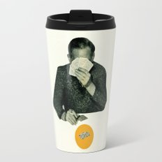 Poker Face Travel Mug