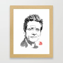 jim carrey Framed Art Print
