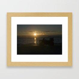 Sunset Isle Framed Art Print