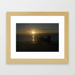 Sunset Isle Framed Art Print