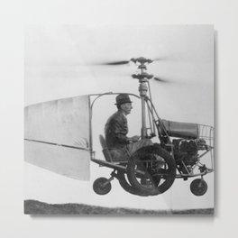 Gyrocopter Metal Print