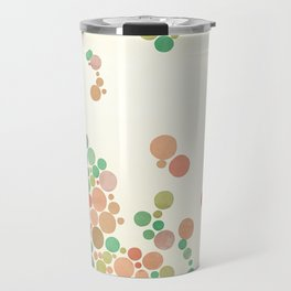 All in dots Travel Mug