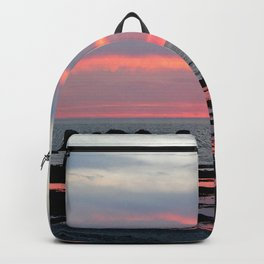 Texture Filled Clouds Backpack