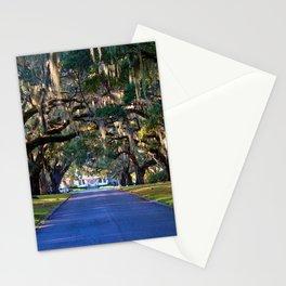 Avenue Of Live Oaks Stationery Cards