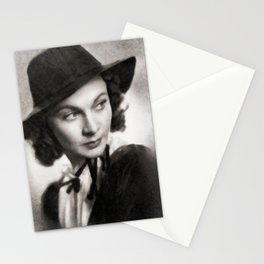 Vivien Leigh, Vintage Actress Stationery Cards