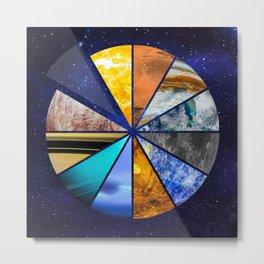 Part of the universe - Solar sistem Metal Print